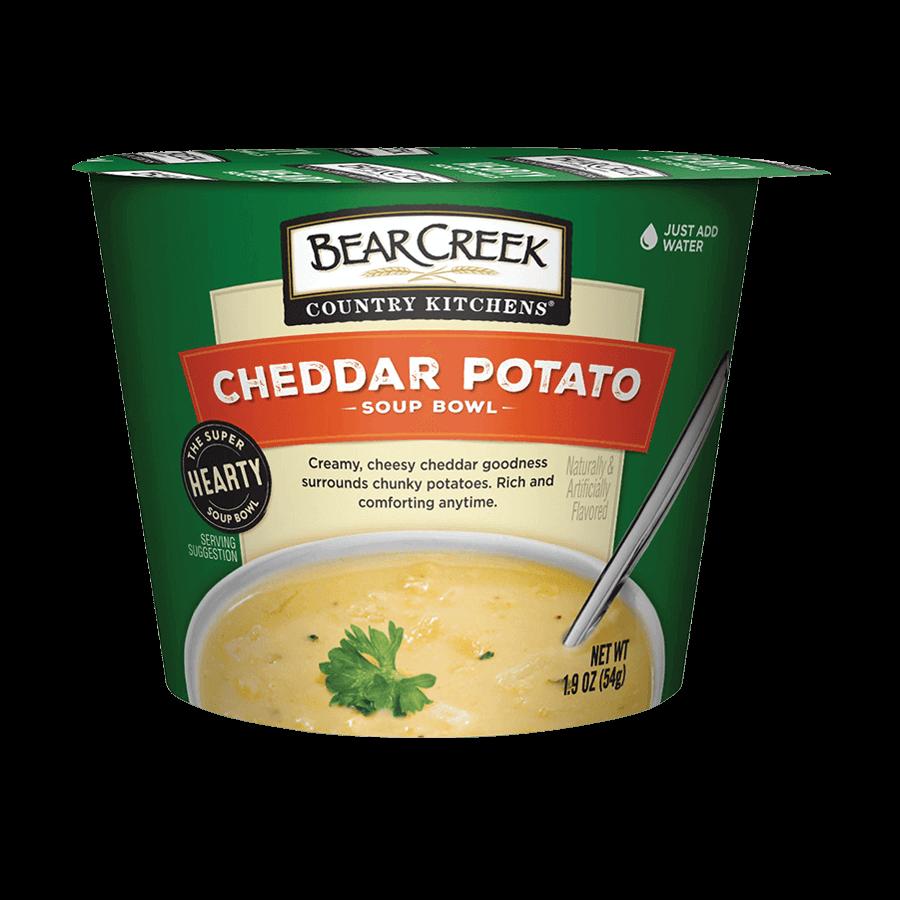 Cheddar Potato Soup Bowl
